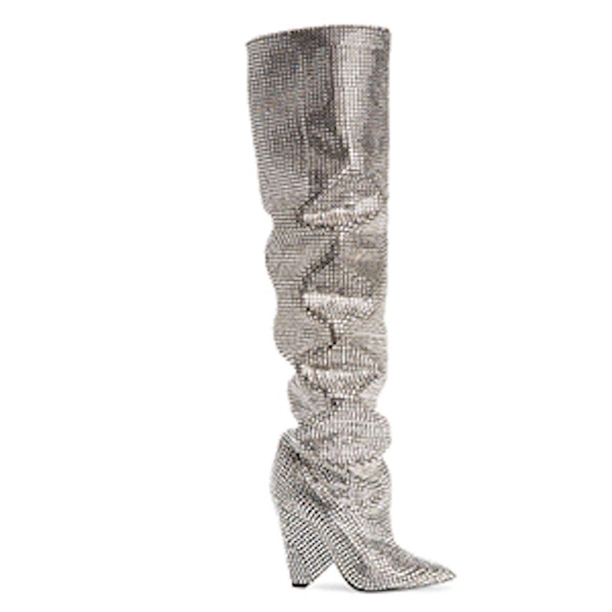 Niki Crystal Embellished Boot