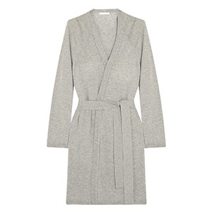 Wool, Modal And Cashmere-Blend Robe