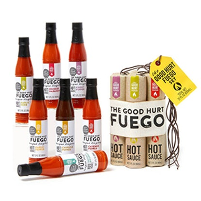 The Good Hurt Feugo: A Hot Sauce Lover's Gift Set