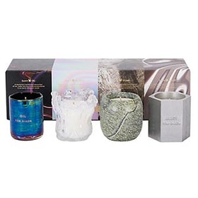 Materialism Set of 4 Candles, 4 x 120g