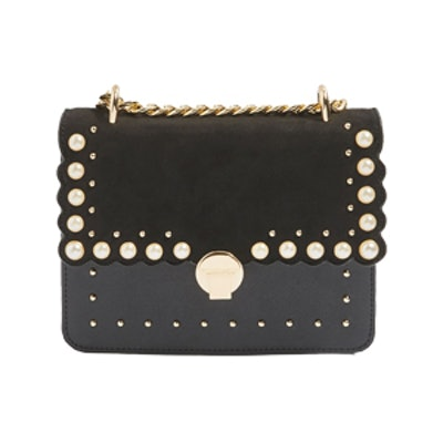 Kelly Pearl Stud Cross Body Bag