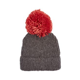 Big Knit Pom Beanie Hat