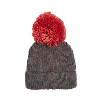Big Knit Pom Beanie Hat