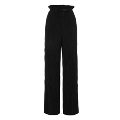 Full Length Plisse Trousers