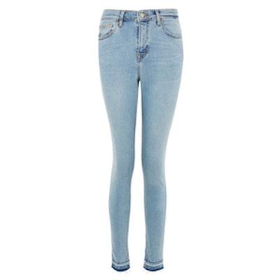 MOTO Bleach Let Hem Jamie Jeans