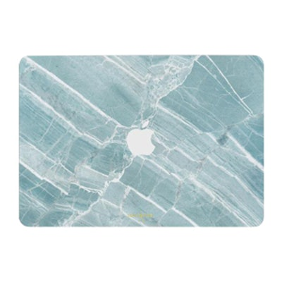 Mint Marble Macbook Skin + Case