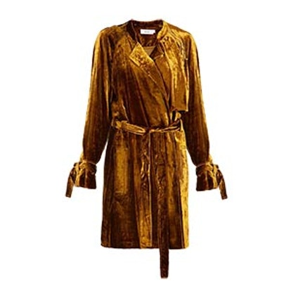 Kendall Velvet Trench Dress