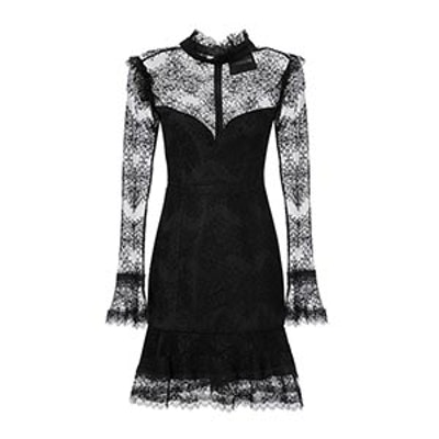 Thalia Lace Mini Dress