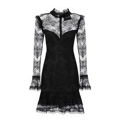 Thalia Lace Mini Dress