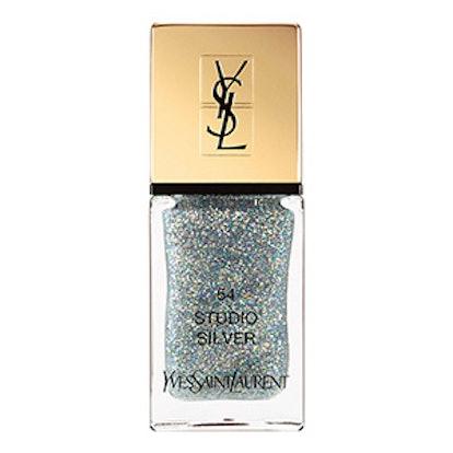La Laque Couture Night 54 Fall Collection Nail Lacquer in Studio Silver