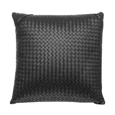 Nero Intrecciato Pillow