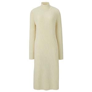 Lambswool Blend Long-Sleeve Dress
