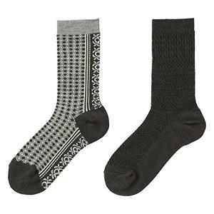 HEATTECH Fair Isle Socks