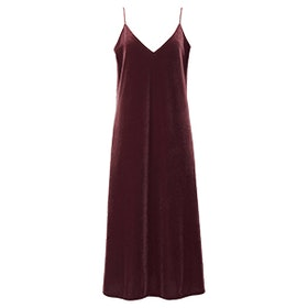 Velour Camisole Dress