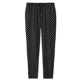 Drape Dot-Print Pants