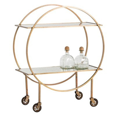 Rupert Iron Bar Cart