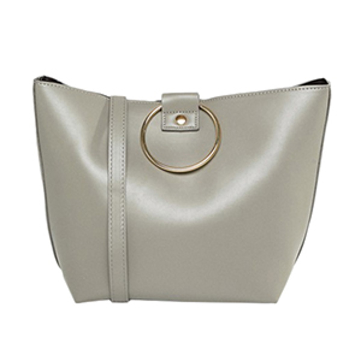 Pieces Bucket Bag With Ring Handles