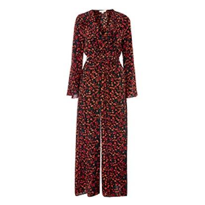Ditsy Floral Jumpsuit