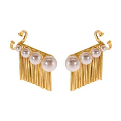 Inez Lobo Ear Cuffs – Gold