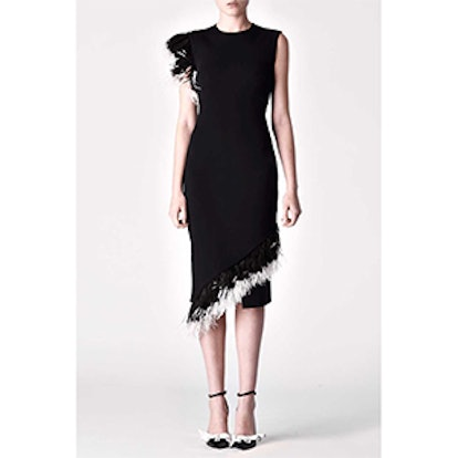 DNA Feather Midi Dress
