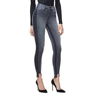 Good Legs Shadow Tunnel Hem Jeans