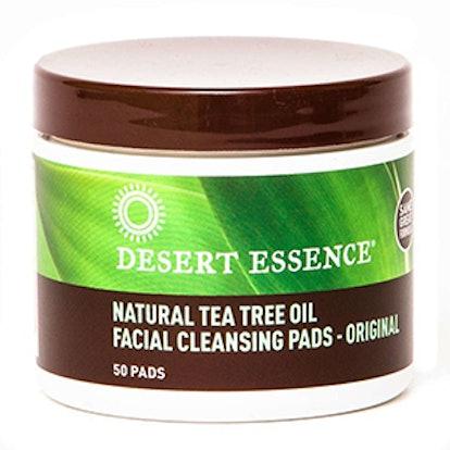 Natural Tea Tree Oil Facial Cleansing Pads Original