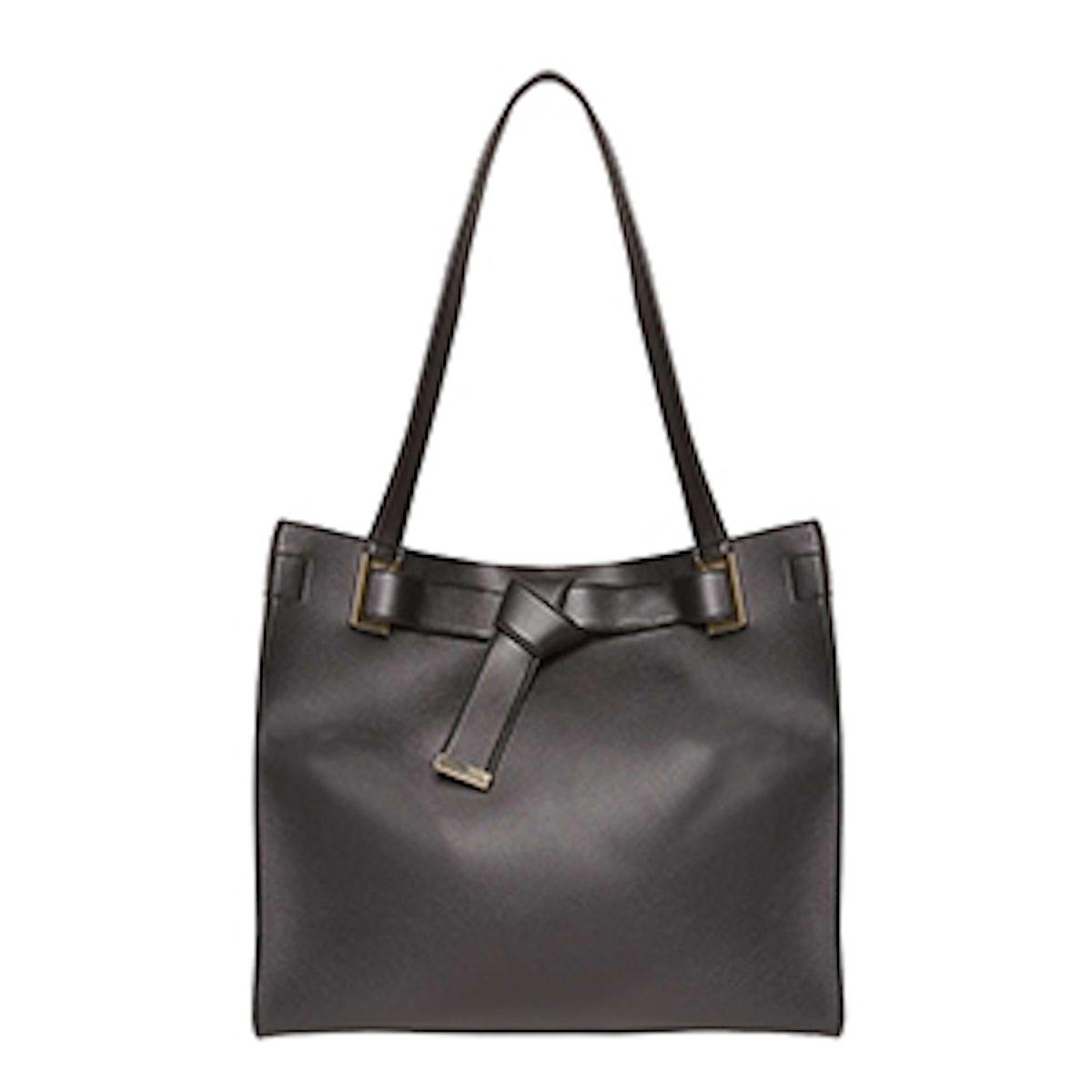 Black Knot Body Shopper Bag