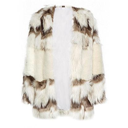 Devonna Mix Faux Fur Coat