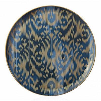 Voyage En Ikat Large Round Platter