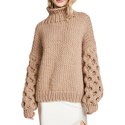 Honey High Neck Sweater