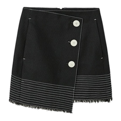Contrast Seam Skirt