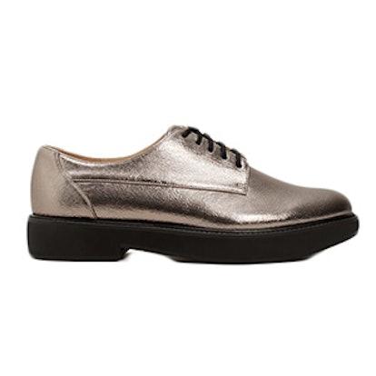 Metallic Blucher Shoes