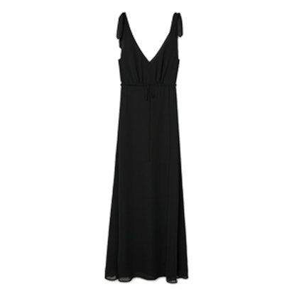 Scoop-Back Bodycon Dress