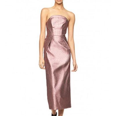 Stretch Lurex Maddie Dress
