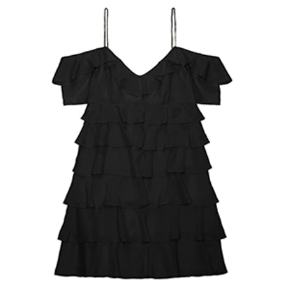 Persei Silk Mini Dress