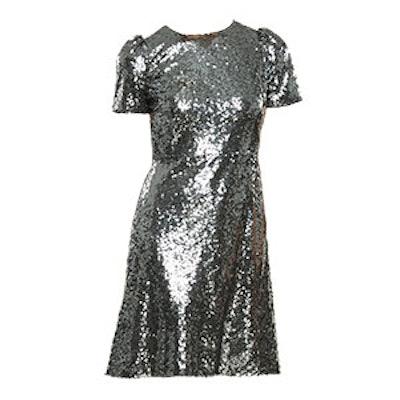 Sequin Shift Dress