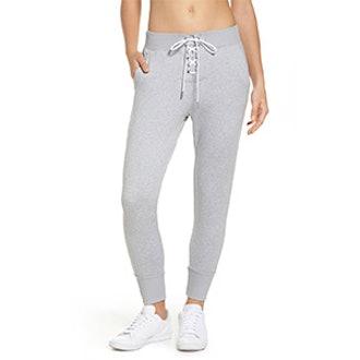 Lace & Repeat Crop Pants