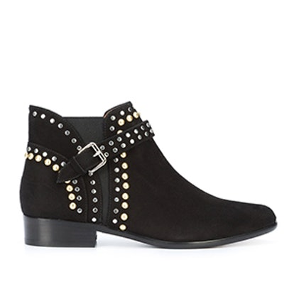 Gigi Studded Suede Booties