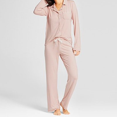 Palm Beach Pink Pajama Set