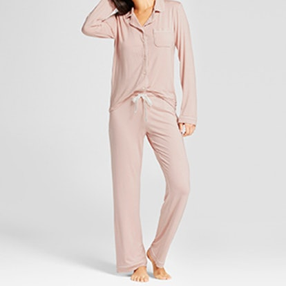 Palm Beach Pink Pajama Set