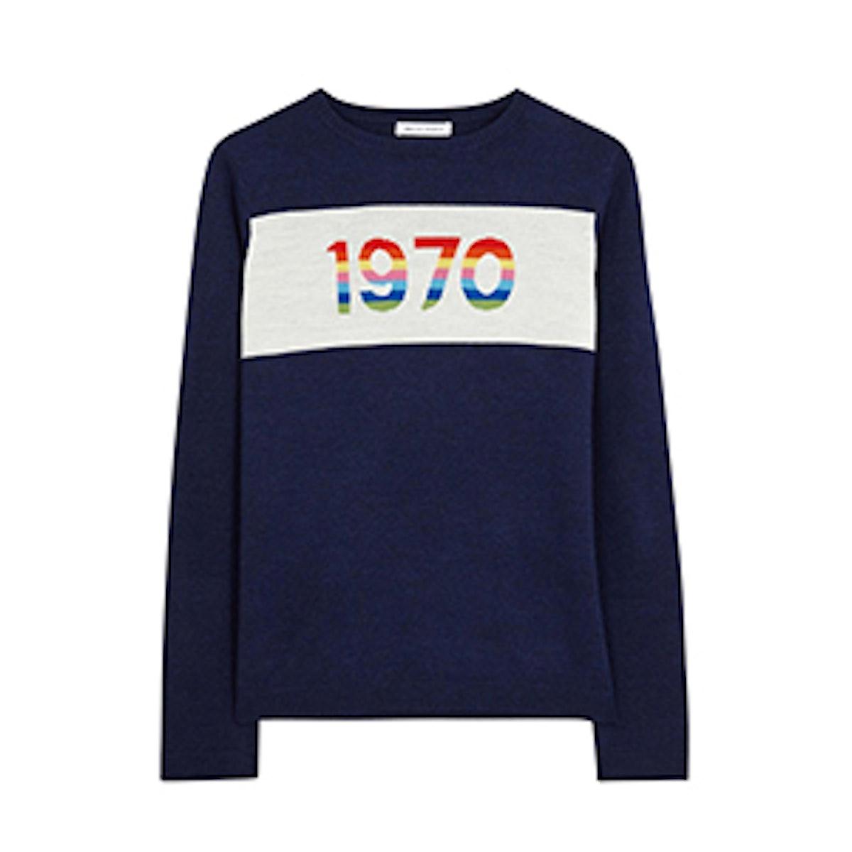 Rainbow 1970 Merino Wool Sweater