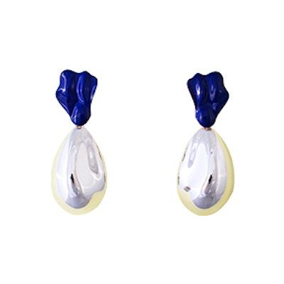 Moules Blue Earrings