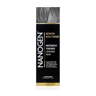 Hair Thickening Fibers in Gray