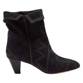 Dyna Suede Ankle Boots