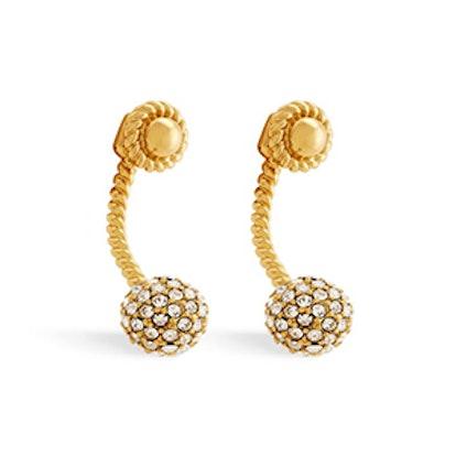 Jesse Crystal Pave Drop Earrings