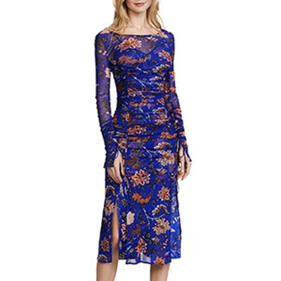 Overlay Mesh Dress