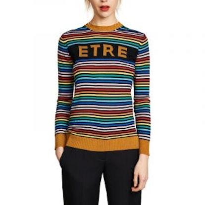 Etre Boyfriend Crew Knit Sweater