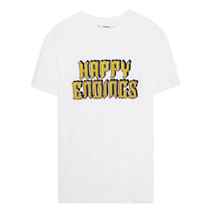 Harway Printed Cotton-Jersey T-Shirt