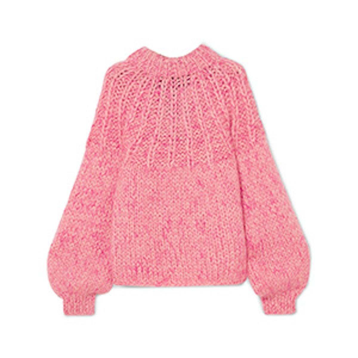 Julliard Mohair-Wool Sweater