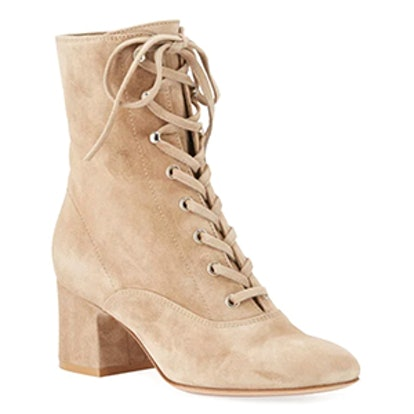 Mackay Suede Lace-Up 60mm Bootie
